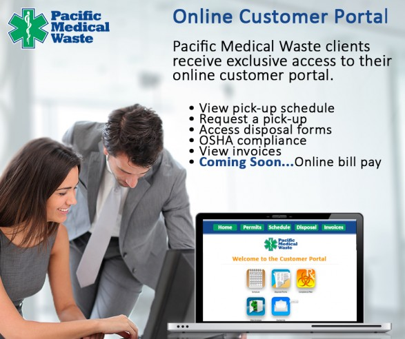 Online Customer Portal - Pacific Medical Waste
